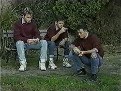 Nick Page, Todd Landers, Matt Robinson in Neighbours Episode 1016