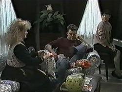 Sharon Davies, Matt Robinson, Hilary Robinson in Neighbours Episode 1016