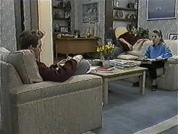 Nick Page, Todd Landers, Katie Landers in Neighbours Episode 1016