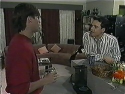 Mike Young, Paul Robinson in Neighbours Episode 1016