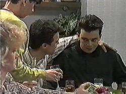 Sharon Davies, Hilary Robinson, Paul Robinson, Matt Robinson in Neighbours Episode 1016