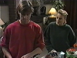 Mike Young, Bronwyn Davies in Neighbours Episode 1016