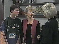 Todd Landers, Sharon Davies, Helen Daniels in Neighbours Episode 1017