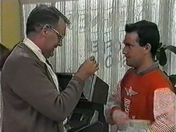 Harold Bishop in Neighbours Episode 1018