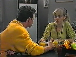 Paul Robinson, Jane Harris in Neighbours Episode 1018