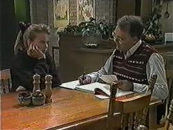 Bronwyn Davies, Harold Bishop in Neighbours Episode 1020