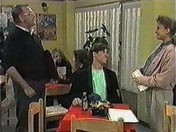 Harold Bishop, Mike Young, Bronwyn Davies in Neighbours Episode 1020