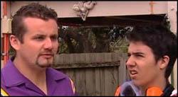 Toadie Rebecchi, Stingray Timmins in Neighbours Episode 4928