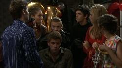 Declan Napier, Ty Harper, Sienna Cammeniti, Ringo Brown, Josh Taylor, Zeke Kinski, Donna Freedman, Bridget Parker in Neighbours Episode 5516