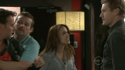 Lucas Fitzgerald, Toadie Rebecchi, Libby Kennedy, Dan Fitzgerald in Neighbours Episode 5518