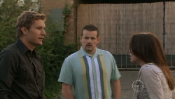 Dan Fitzgerald, Toadie Rebecchi, Libby Kennedy in Neighbours Episode 5518