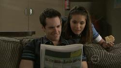 Angus Henderson, Rachel Kinski in Neighbours Episode 5519