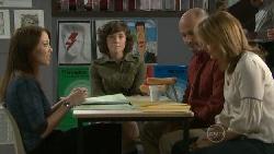 Libby Kennedy, Bridget Parker, Steve Parker, Miranda Parker in Neighbours Episode 5519