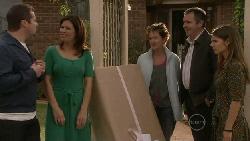 Toadie Rebecchi, Rebecca Napier, Susan Kennedy, Karl Kennedy, Rachel Kinski in Neighbours Episode 5522