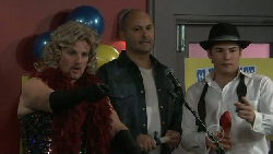 Toadie Rebecchi, Steve Parker, Declan Napier in Neighbours Episode 5523