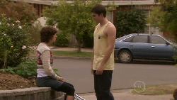 Bridget Parker, Declan Napier in Neighbours Episode 5525