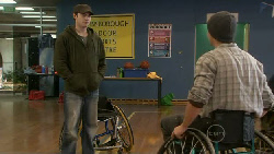 Declan Napier, Josh Taylor in Neighbours Episode 5527