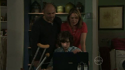 Steve Parker, Bridget Parker, Miranda Parker in Neighbours Episode 5530