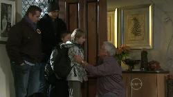 Toadie Rebecchi, Dan Fielding, Callum Jones, Mickey Gannon, Lou Carpenter in Neighbours Episode 5532