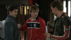 Declan Napier, Ringo Brown, Lucas Fitzgerald in Neighbours Episode 5534