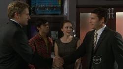 Dan Fitzgerald, Zeke Kinski, Libby Kennedy, Andrew Simpson in Neighbours Episode 5535