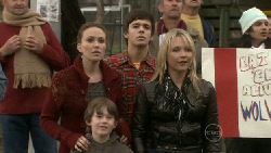 Libby Kennedy, Ben Kirk, Zeke Kinski, Steph Scully in Neighbours Episode 5535