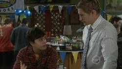 Zeke Kinski, Dan Fitzgerald in Neighbours Episode 5535