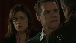Rebecca Napier, Paul Robinson, Karl Kennedy in Neighbours Episode 5537