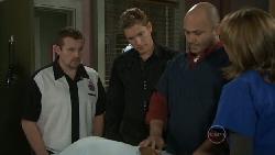 Toadie Rebecchi, Dan Fitzgerald, Steve Parker, Miranda Parker in Neighbours Episode 5542