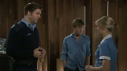 Matt Freedman, Ringo Brown, Donna Freedman in Neighbours Episode 5543