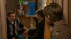 Toadie Rebecchi, Dan Fitzgerald, Ben Kirk in Neighbours Episode 5822