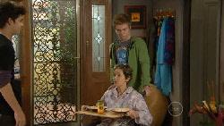 Zeke Kinski, Susan Kennedy, Ringo Brown in Neighbours Episode 5823