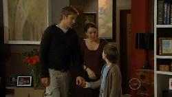Dan Fitzgerald, Libby Kennedy, Ben Kirk in Neighbours Episode 5823