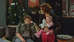 Declan Napier, Rebecca Napier, India Napier in Neighbours Episode 5833