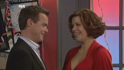 Paul Robinson, Rebecca Napier in Neighbours Episode 5835