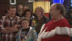 Toadie Rebecchi, Callum Jones, Lyn Scully, Eddie in Neighbours Episode 5835