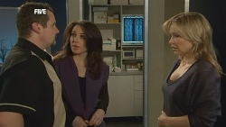 Toadie Rebecchi, Libby Kennedy, Steph Scully in Neighbours Episode 5836