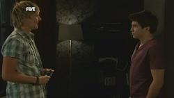 Andrew Robinson, Declan Napier in Neighbours Episode 5837