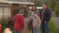 Rocky, Callum Jones, Libby Kennedy, Ben Kirk, Toadie Rebecchi in Neighbours Episode 5839