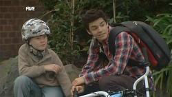 Ben Kirk, Zeke Kinski in Neighbours Episode 5839