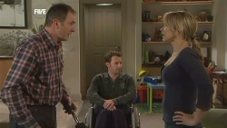 Karl Kennedy, Lucas Fitzgerald, Steph Scully in Neighbours Episode 5840