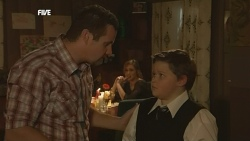 Toadie Rebecchi, Sonya Mitchell, Callum Jones in Neighbours Episode 5840