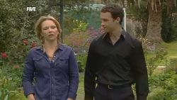Steph Scully, Father Sean Corrigan in Neighbours Episode 5840