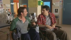 Lucas Fitzgerald, Billy Forman in Neighbours Episode 5841