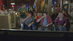 Toadie Rebecchi, Lucas Fitzgerald, Billy Forman in Neighbours Episode 5841