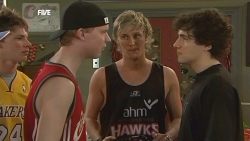 Scott 'Griffo' Griffin, Andrew Robinson, Harry Ramsay in Neighbours Episode 5841