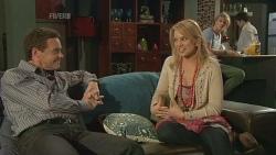 Paul Robinson, Donna Freedman, Andrew Robinson, Declan Napier in Neighbours Episode 5842