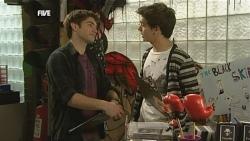 Declan Napier, Zeke Kinski in Neighbours Episode 5843