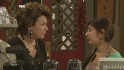 Lyn Scully, Jumilla Chandra  in Neighbours Episode 5843