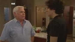 Lou Carpenter, Harry Ramsay in Neighbours Episode 5844